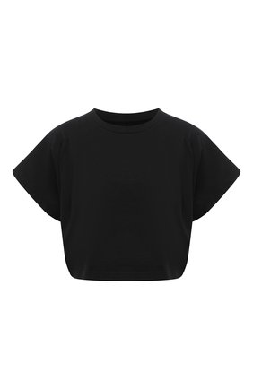 Женская хлопковая футболка ISABEL MARANT черного цвета, арт. TS0779-21P027I/ZINALIA   Фото 1