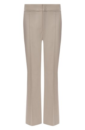 Женские брюки ISABEL MARANT бежевого цвета, арт. PA1890-21P012I/S0R0KIA   Фото 1
