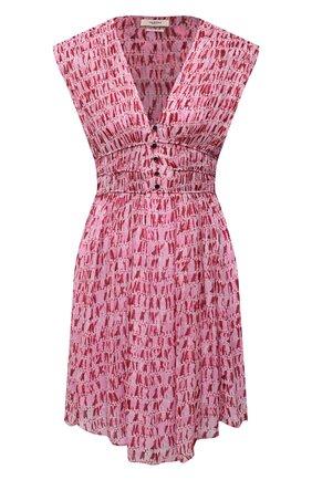 Женское платье из вискозы ISABEL MARANT ETOILE красного цвета, арт. R01898-21P029E/SEGUN | Фото 1