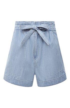 Женские джинсовые шорты ISABEL MARANT ETOILE голубого цвета, арт. SH0365-21P023E/MARIUS | Фото 1