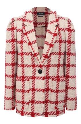 Женский жакет ISABEL MARANT красного цвета, арт. VE1558-21P007I/KAD0M0 | Фото 1