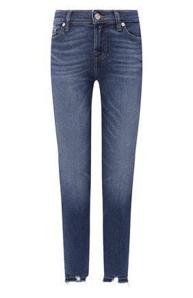Женские джинсы 7 FOR ALL MANKIND синего цвета, арт. JSVU1200LD | Фото 1