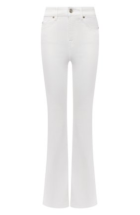 Женские джинсы 7 FOR ALL MANKIND белого цвета, арт. JSQNV5000F | Фото 1