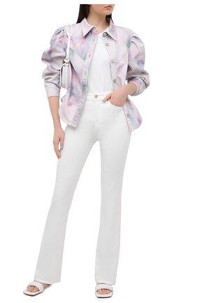 Женские джинсы 7 FOR ALL MANKIND белого цвета, арт. JSQNV5000F | Фото 2