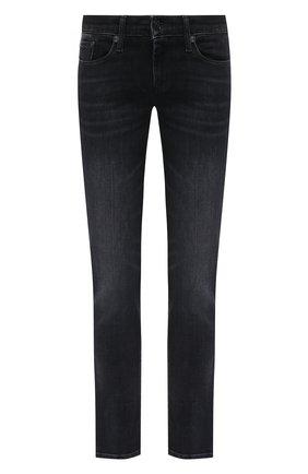 Женские джинсы 7 FOR ALL MANKIND черного цвета, арт. JSL4R850L0 | Фото 1