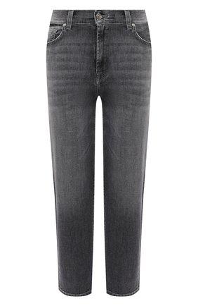 Женские джинсы 7 FOR ALL MANKIND серого цвета, арт. JSA7U790SG | Фото 1