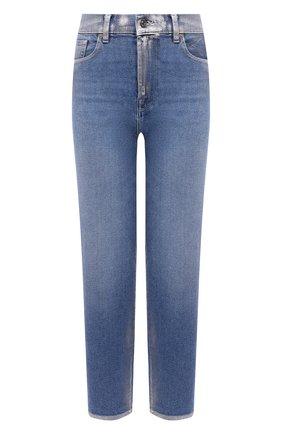 Женские джинсы 7 FOR ALL MANKIND голубого цвета, арт. JSA71200SK | Фото 1
