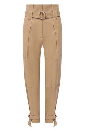 Женские замшевые брюки IRO бежевого цвета, арт. WP23LIMEST | Фото 1