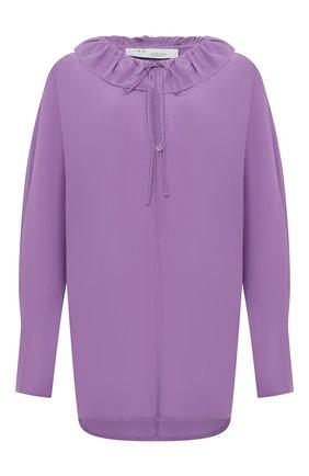 Женская шелковая блузка IRO фиолетового цвета, арт. WP16NIKL0 | Фото 1