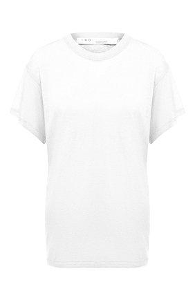 Женская льняная футболка IRO белого цвета, арт. WP19HINT0N | Фото 1