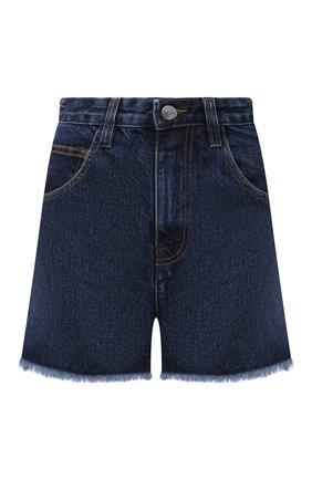 Женские джинсовые шорты IRO темно-синего цвета, арт. WP30BAZ0U | Фото 1