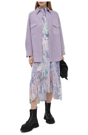 Женское платье из вискозы IRO сиреневого цвета, арт. WP33FIK0 | Фото 2