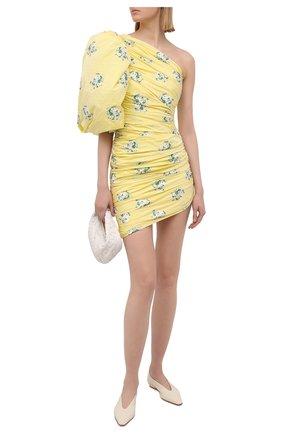 Женское платье GIUSEPPE DI MORABITO желтого цвета, арт. SS21118DR-129 | Фото 2