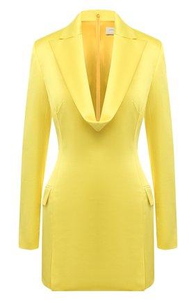 Женское платье GIUSEPPE DI MORABITO желтого цвета, арт. SS21151DR-109 | Фото 1