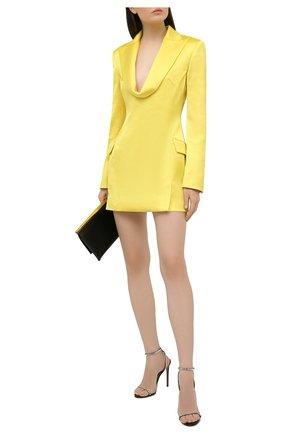 Женское платье GIUSEPPE DI MORABITO желтого цвета, арт. SS21151DR-109 | Фото 2