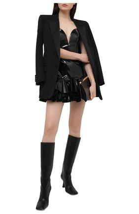Женское платье GIUSEPPE DI MORABITO черного цвета, арт. SS21171DR-71   Фото 2