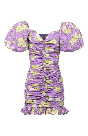 Женское хлопковое платье GIUSEPPE DI MORABITO сиреневого цвета, арт. SS21180DR-126-ST12 | Фото 1