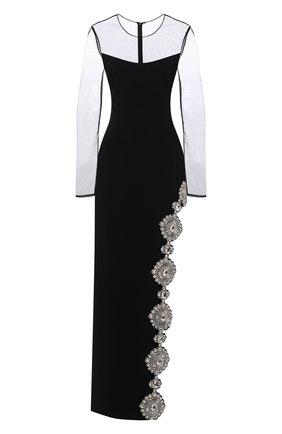 Женское платье DAVID KOMA черного цвета, арт. R21DK11DL | Фото 1