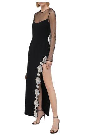 Женское платье DAVID KOMA черного цвета, арт. R21DK11DL | Фото 2