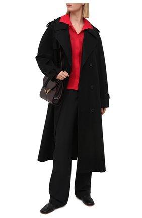 Женский кардиган BOTTEGA VENETA красного цвета, арт. 648977/V0BN0 | Фото 2