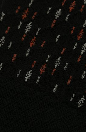 Мужские носки из шерсти и хлопка FALKE черного цвета, арт. 12461 | Фото 2