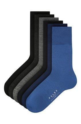Мужские комплект из шести носков FALKE разноцветного цвета, арт. 13068   Фото 1