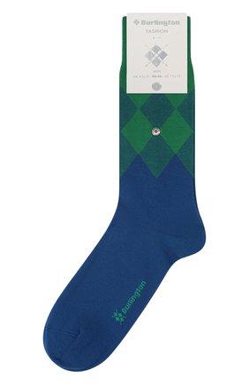 Мужские хлопковые носки BURLINGTON синего цвета, арт. 21912 | Фото 1