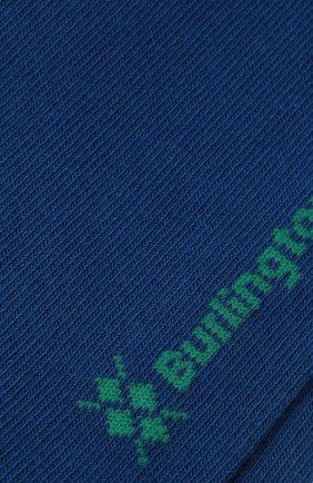 Мужские хлопковые носки BURLINGTON синего цвета, арт. 21912 | Фото 2