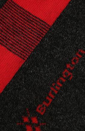 Мужские носки из хлопка и кашемира BURLINGTON красного цвета, арт. 21920 | Фото 2