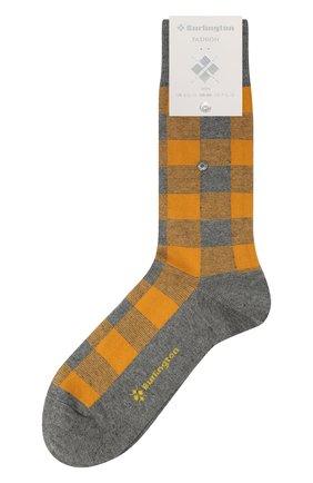 Мужские носки из хлопка и кашемира BURLINGTON оранжевого цвета, арт. 21920 | Фото 1