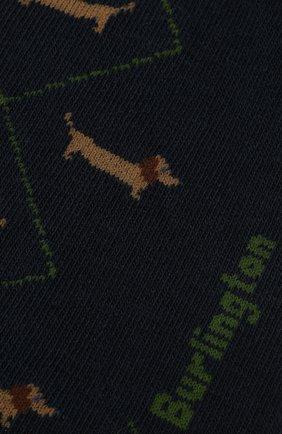 Мужские хлопковые носки BURLINGTON темно-синего цвета, арт. 21921 | Фото 2