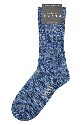 Мужские хлопковые носки FALKE темно-синего цвета, арт. 12430 | Фото 1