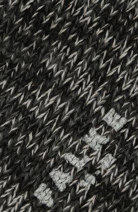 Мужские хлопковые носки FALKE серого цвета, арт. 12430 | Фото 2