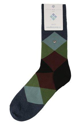 Мужские хлопковые носки BURLINGTON разноцветного цвета, арт. 20942 | Фото 1