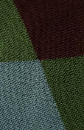 Мужские хлопковые носки BURLINGTON разноцветного цвета, арт. 20942 | Фото 2