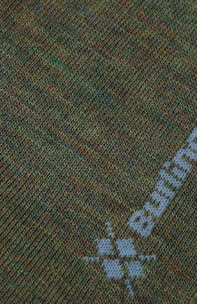 Мужские шерстяные носки BURLINGTON хаки цвета, арт. 21183 | Фото 2