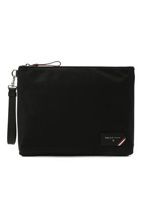 Мужская текстильный клатч fholler BALLY черного цвета, арт. FH0LLER/00 | Фото 1 (Материал: Текстиль)