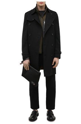 Мужская текстильный клатч fholler BALLY черного цвета, арт. FH0LLER/00 | Фото 2 (Материал: Текстиль)