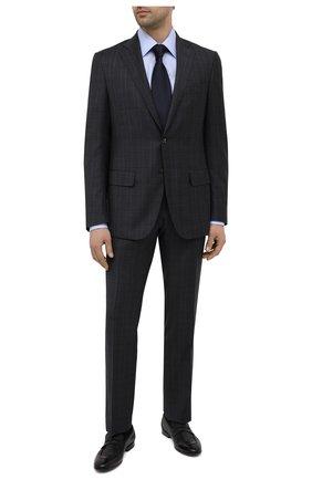 Мужские кожаные пенни-лоферы H`D`S`N BARACCO черного цвета, арт. 71402.P.2* | Фото 2 (Материал внутренний: Натуральная кожа; Стили: Классический; Мужское Кросс-КТ: Лоферы-обувь)