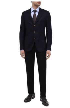 Мужские кожаные оксфорды TOD'S черного цвета, арт. XXM01E00N50D90 | Фото 2