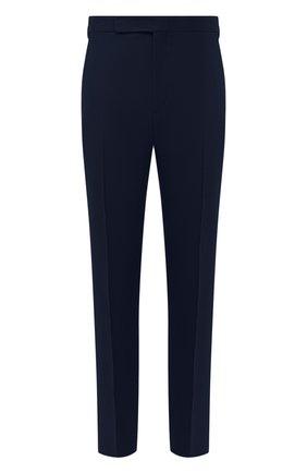 Мужские льняные брюки RALPH LAUREN темно-синего цвета, арт. 798830244 | Фото 1