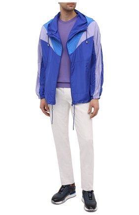 Мужская куртка ISABEL MARANT синего цвета, арт. MA0942-21P001V/RICHA0H | Фото 2