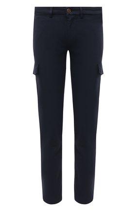 Мужские хлопковые брюки-карго 7 FOR ALL MANKIND темно-синего цвета, арт. JSUCT490NV | Фото 1