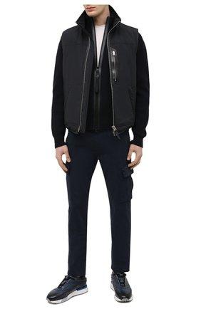 Мужские хлопковые брюки-карго 7 FOR ALL MANKIND темно-синего цвета, арт. JSUCT490NV | Фото 2