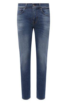 Мужские джинсы 7 FOR ALL MANKIND синего цвета, арт. JSMXB530KM | Фото 1