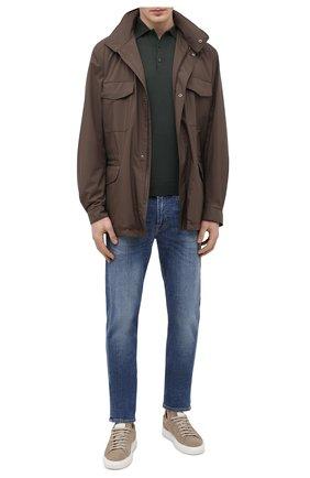 Мужские джинсы 7 FOR ALL MANKIND синего цвета, арт. JSMXB530KM | Фото 2
