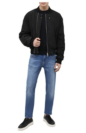 Мужские джинсы 7 FOR ALL MANKIND синего цвета, арт. JSMXB48BLI | Фото 2