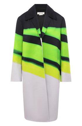 Женское хлопковое пальто DRIES VAN NOTEN разноцветного цвета, арт. 211-30232-2142 | Фото 1