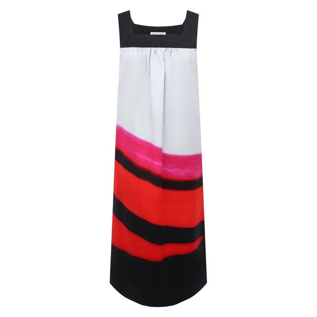 Хлопковое платье Dries Van Noten