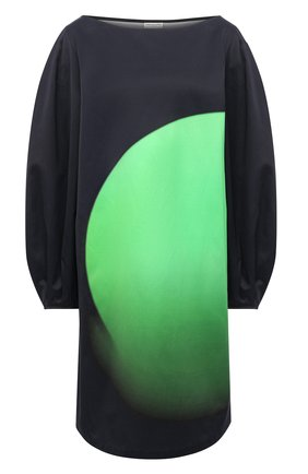 Женское платье из вискозы DRIES VAN NOTEN черного цвета, арт. 211-31034-2046 | Фото 1